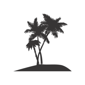 Palm Trees Vector 1 13 Clip Art - SVG & PNG palm