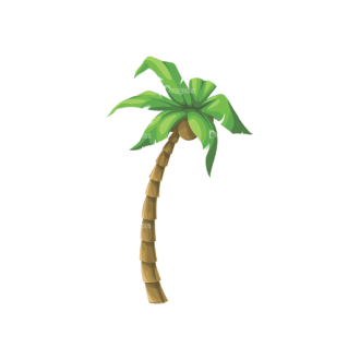 Palm Trees Vector 4 2 Clip Art - SVG & PNG palm