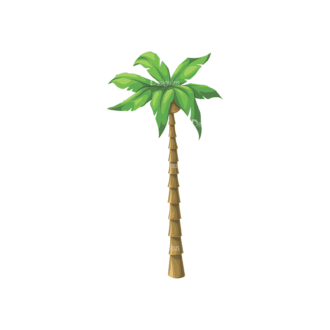 Palm Trees Vector 4 3 Clip Art - SVG & PNG palm