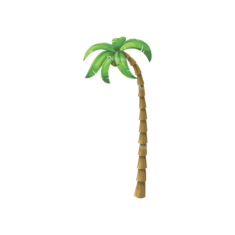 Palm Trees Vector 4 8 Clip Art - SVG & PNG palm