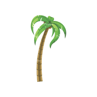 Palm Trees Vector 4 9 Clip Art - SVG & PNG palm