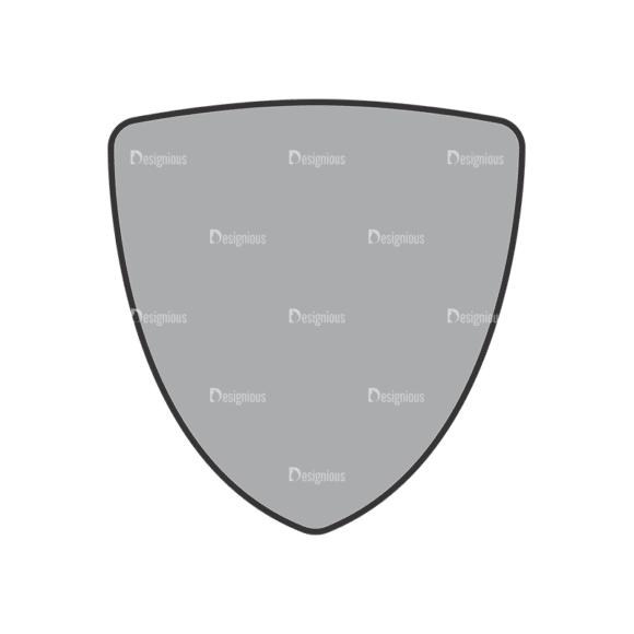 Shield Vector 1 2 Clip Art - SVG & PNG vector