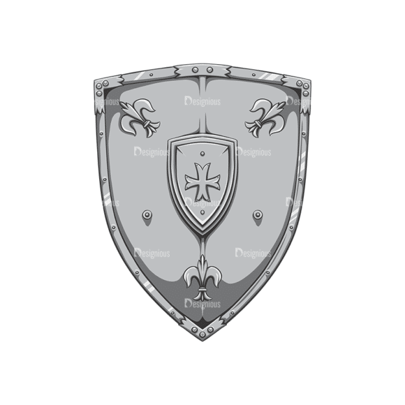 Shield Vector 2 1 Clip Art - SVG & PNG vector