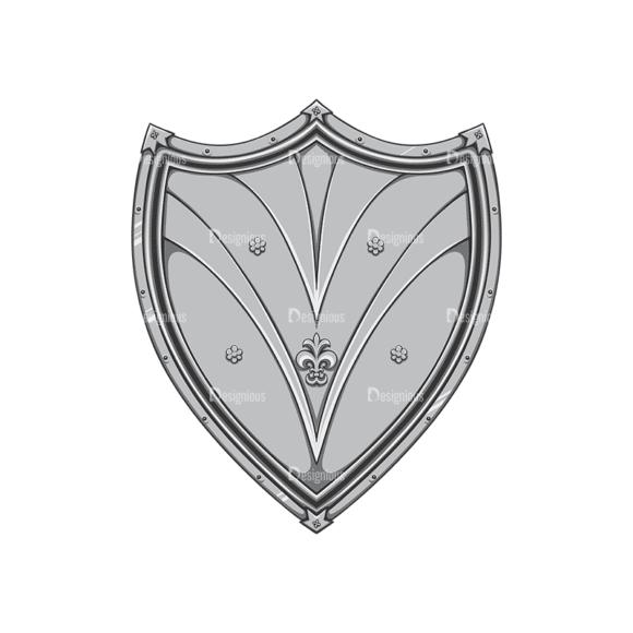 Shield Vector 2 8 Clip Art - SVG & PNG vector