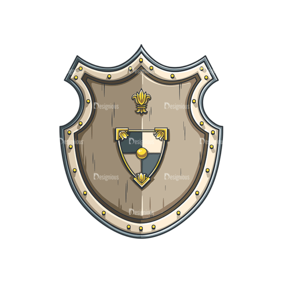 Shield Vector 4 3 Clip Art - SVG & PNG vector