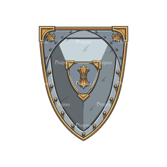 Shield Vector 4 6 Clip Art - SVG & PNG vector