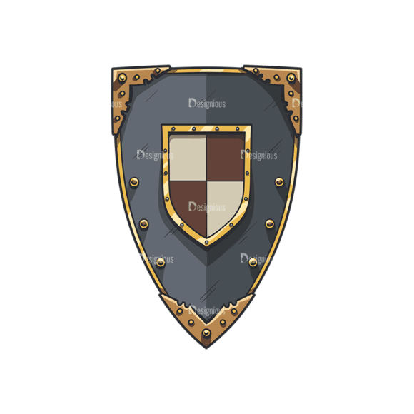 Shield Vector 5 2 Clip Art - SVG & PNG vector