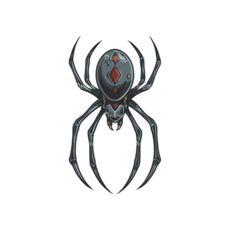 Spiders Vector 1 2 Clip Art - SVG & PNG vector