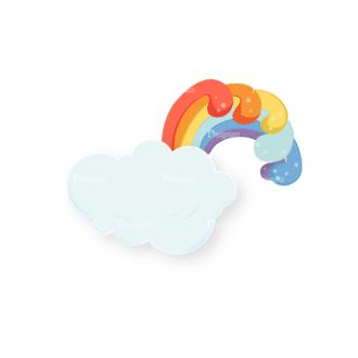 St Patrick'S Day Vector Elements Vector Rainbow 06 Clip Art - SVG & PNG vector