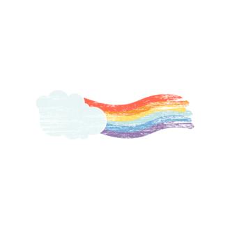 St Patrick'S Day Vector Elements Vector Rainbow 31 Clip Art - SVG & PNG vector