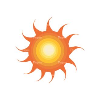 Sun Vector 1 6 Clip Art - SVG & PNG vector