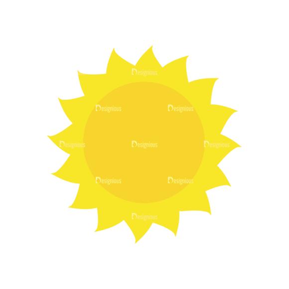 Sun Vector 1 7 Clip Art - SVG & PNG vector