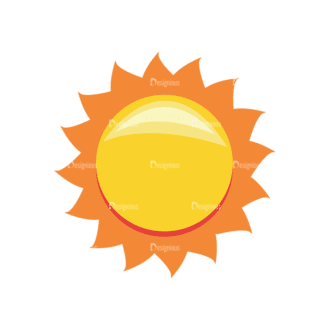 Sun Vector 1 8 Clip Art - SVG & PNG vector