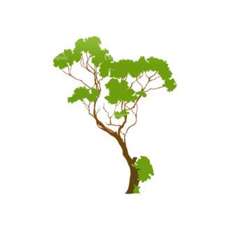 Trees Green Vector Tree 22 Clip Art - SVG & PNG tree