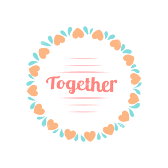Valentine S Day Vector Set 5 Vector Together Clip Art - SVG & PNG vector
