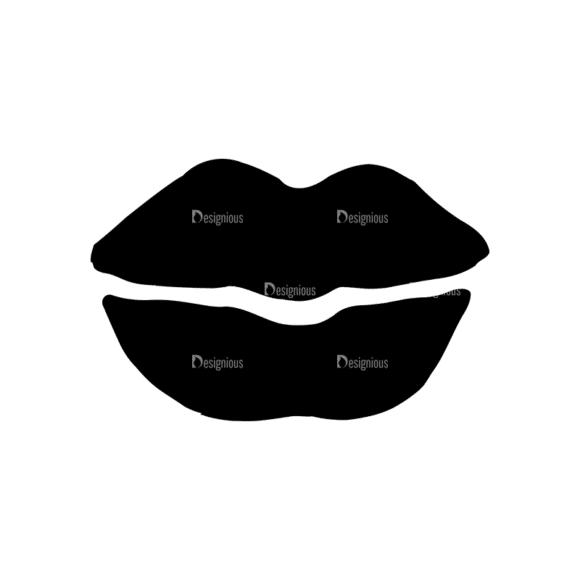 Valentine'S Day Set 20 Vector Lips Clip Art - SVG & PNG vector