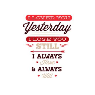 Valentines Day Typographic Elements Vector Valentines 01 Clip Art - SVG & PNG vector