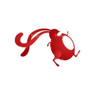 Vector Bunnies And Eggs Vector Bunnies Egg 02 Clip Art - SVG & PNG vector