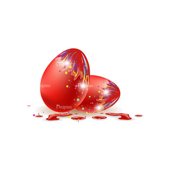 Vector Easter Elements 1 Vector Eater Egg 08 Clip Art - SVG & PNG vector
