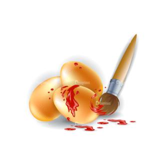 Vector Easter Elements 1 Vector Eater Egg 13 Clip Art - SVG & PNG vector