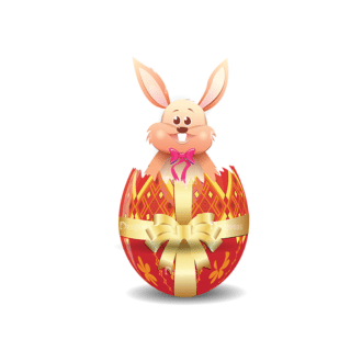 Vector Easter Elements 1 Vector Eater Egg 14 Clip Art - SVG & PNG vector