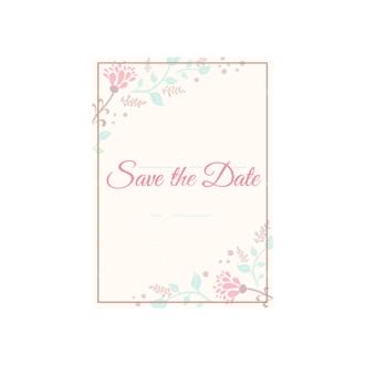 Wedding Invitations Vector Set 2 Vector Invitation 01 Clip Art - SVG & PNG vector