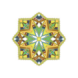 Islamic Motifs 04 Clip Art - SVG & PNG vector