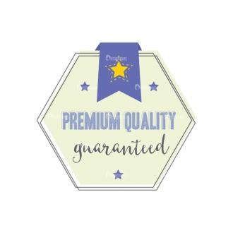 Simple Badges Premium Quality Clip Art - SVG & PNG vector