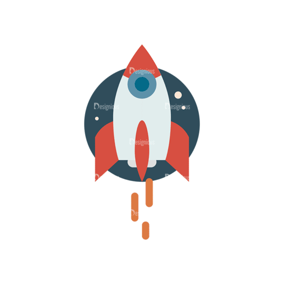 Space Icon Set Space Shuttle 05 Clip Art - SVG & PNG vector