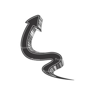 Arrows Pack 2 3 Clip Art - SVG & PNG vector