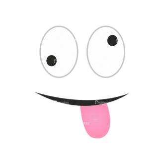 Cartoon Face Expressions Vector Set 1 Vector Face Expession 14 Clip Art - SVG & PNG vector