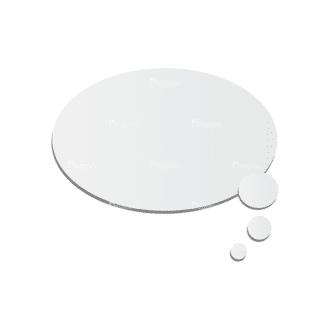 Chat Bubbles Vector Speech Bubble 01 Clip Art - SVG & PNG vector