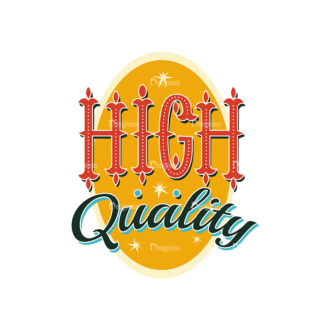 Coloful Typography Set 1 Vector High Quality Clip Art - SVG & PNG vector