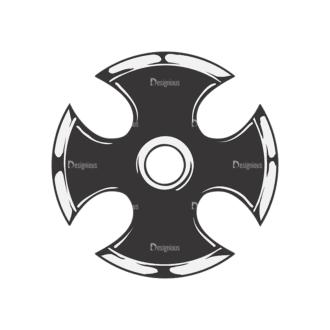 Crosses Vector 2 10 Clip Art - SVG & PNG vector