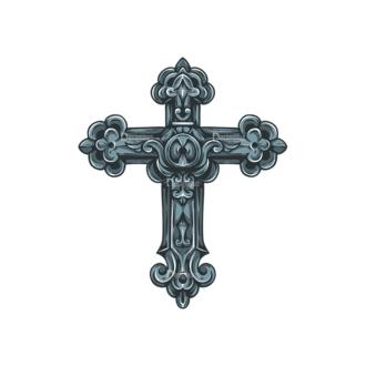 Crosses Vector 3 5 Clip Art - SVG & PNG vector