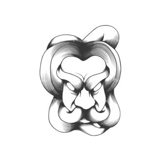 Evil Creatures Vector 1 6 Clip Art - SVG & PNG vector