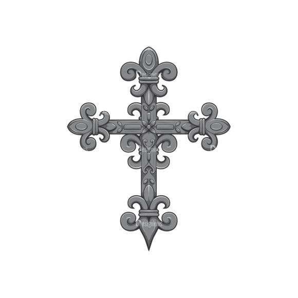 Gothic Vector 1 9 Clip Art - SVG & PNG vector