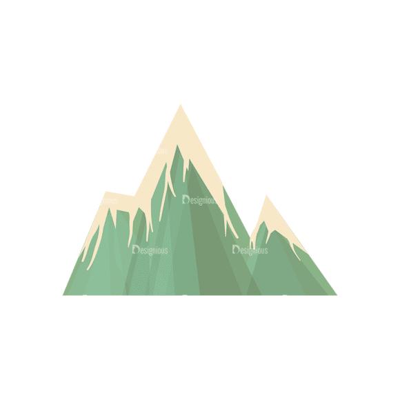 Hiking Equipment Vector Infographics Vector Mountain 02 Clip Art - SVG & PNG vector