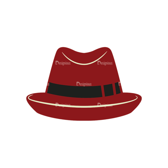 Hipster Vector Set 1 Vector Hat 30 Clip Art - SVG & PNG vector