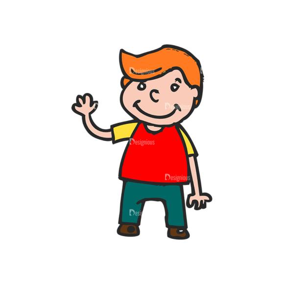 Kids School Vector Set 1 Vector Kids 15 Clip Art - SVG & PNG vector