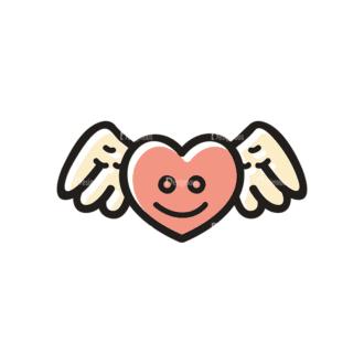 Love Vector Set 21 Vector Heart Clip Art - SVG & PNG vector