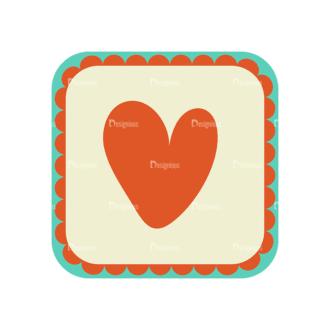 Love Vector Set 6 Vector Heart 17 Clip Art - SVG & PNG vector