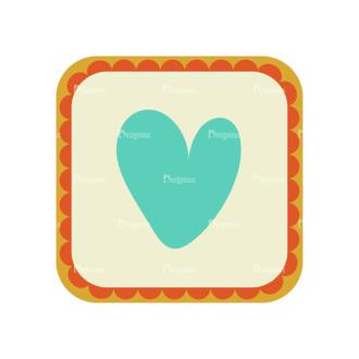 Love Vector Set 6 Vector Heart 18 Clip Art - SVG & PNG vector
