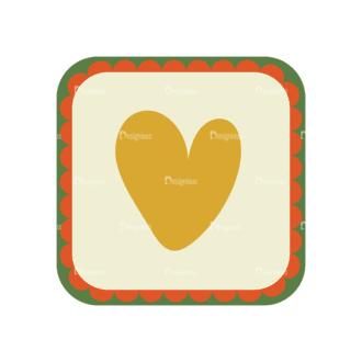 Love Vector Set 6 Vector Heart 19 Clip Art - SVG & PNG vector