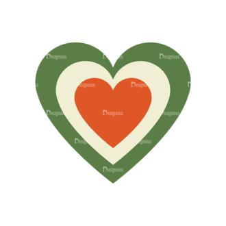 Love Vector Set 6 Vector Heart 22 Clip Art - SVG & PNG vector