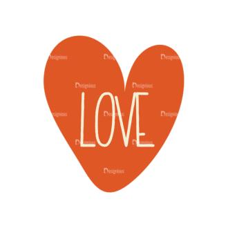 Love Vector Set 6 Vector Heart 23 Clip Art - SVG & PNG vector