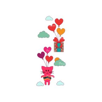 Love Vector Set 7 Vector Heart 23 Clip Art - SVG & PNG vector