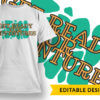 Goodbye to life, hello to wife T-shirt Designs and Templates vector