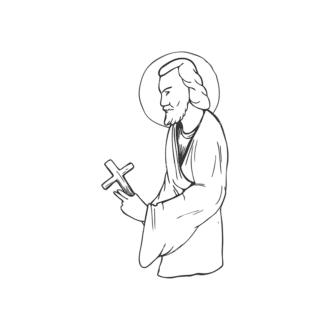 Religion Vector 1 2 Clip Art - SVG & PNG vector