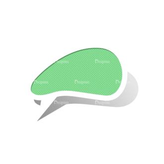Scrapbook Speech Bubles Vector Speech Bubbles 08 Clip Art - SVG & PNG vector